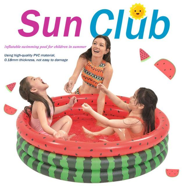 120cm Watermelon Inflatable Swimming For Kid And Family Great Outdoor Fun New Water Pool In Summer Pit Ball Pool Of 45 Inches