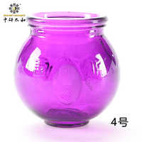 Colorfull Glass Cups  Vacuum  Cupping Explosion-proof Thick Glass  Cups Fire Cups  Fire Glass Cups