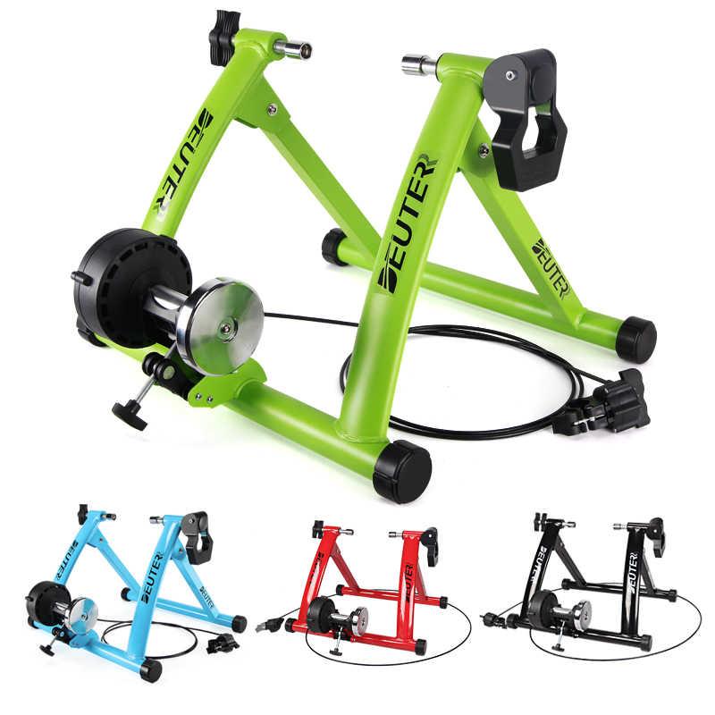 """Bersepeda Pelatih Indoor Latihan Pelatihan Rumah 26-28 """"6 Speed Magnetic Resistensi Sepeda Pelatih Rol Sepeda Fitness Trainer"""