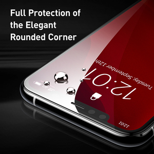 Image 3 - Baseus 0.3mm Full Coverage Protective Glass For iPhone 11 Pro Max Tempered Glass Screen Protector For iPhone 11 Pro Glass
