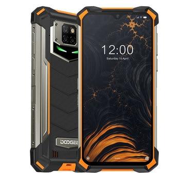 Перейти на Алиэкспресс и купить Смартфон DOOGEE S88 Pro защищенный, IP68/IP69K, 10000 мА ч, Android 10, быстрая смена, Восьмиядерный процессор Helio P70, 6,3 дюйма, 19:9, 6 ГБ ОЗУ, 128 Гб ПЗУ, NFC