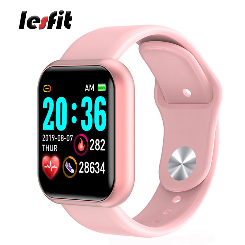 Smart WristBand y68 Female Fashion Step-Counter Heart-Rate Monitor Fitness Tracker for Ladies Smart Watch for Women and Men
