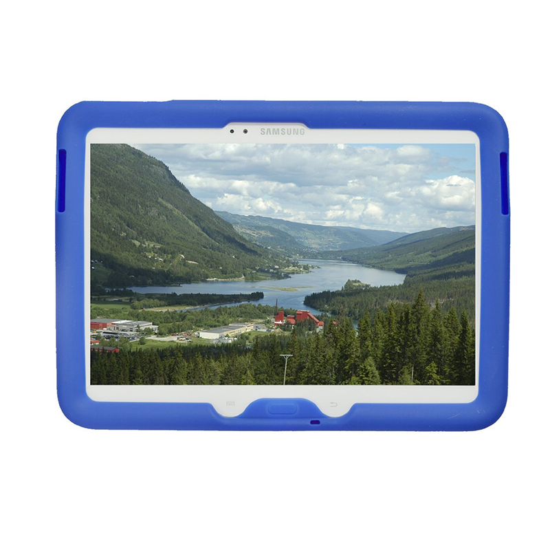 MingShore Heavy Duty Rugged Silicone Protective Cover <font><b>Case</b></font> For Samsung Galaxy Tab 3 10.1inch <font><b>P5210</b></font> P5220 P5200 Tablet image
