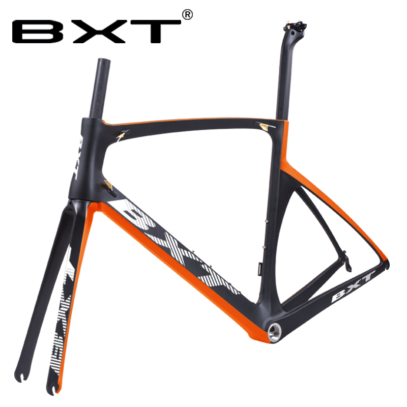 Carbon Road Racing Frame V Brake/disc BSA Bicicletas Road Bike Cycling Frames 49 52 54 56cm Di2 And Mechanical Bicycle Frameset