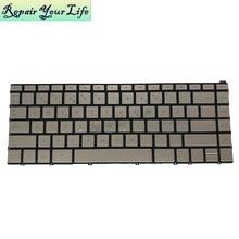 NE laptop keyboard for HP spectre X360 13-W 13-ae000 13-W055