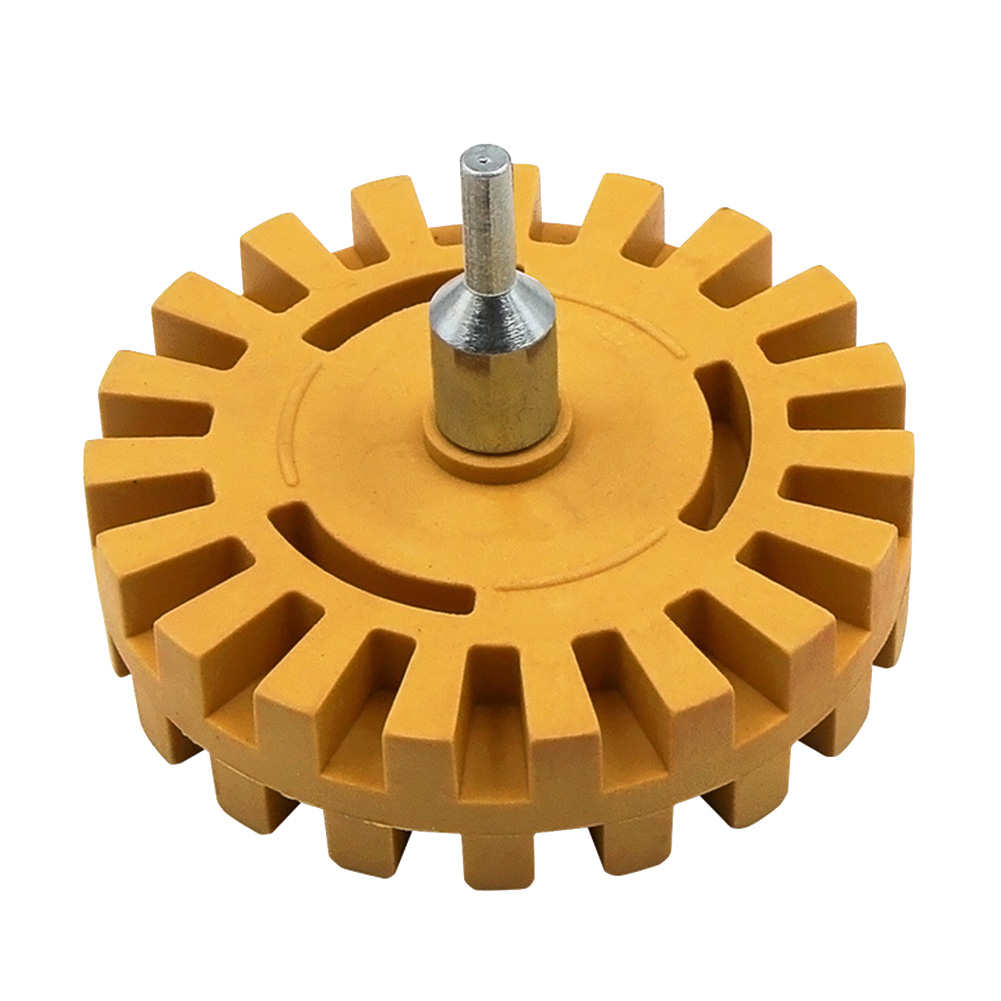 Image 5 - Newly Pneumatic Degumming Wheel Rubber Grinding Tire Polishing Wheel Tool TE889-in Abrasive Tools from Tools
