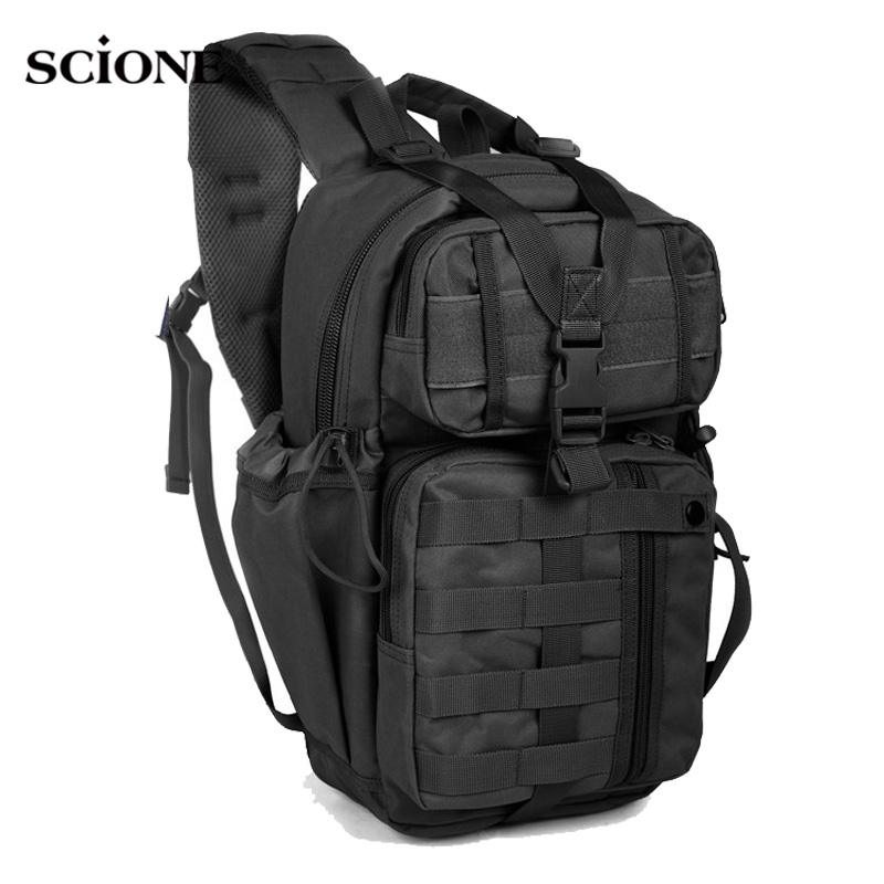 Military Army Bags Camouflage Backpack for Men Molle Tactical Rucksack Travel Camping Tas Sac De Sport Outdoor Sports XA764WA