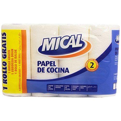 Mical - Papel De Cocina - 2 Capas - 4 Rollos