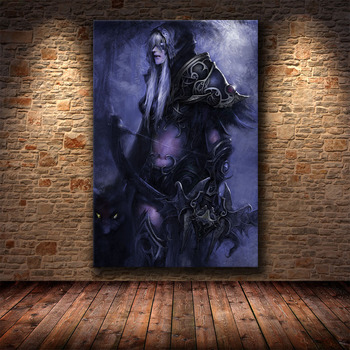 The Poster Decoration Painting of World of Warcraft 8.0 Map on HD Canvas Canvas Painting Wall Art Canvas Cuadros Decor 2