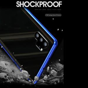 Image 3 - Voor + Back Dubbelzijdig Gehard Glas Case Voor Samsung Galaxy Note 10 + 5G S9 S8 S10 plus S10E Note 10 Plus 5G 9 8 Magnetische Case