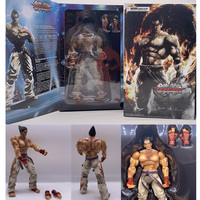 26cm Play Arts Kai Tekken Figure Kazuya Mishima Tekken PVC Game Tekken Action Figure Collection Model Toy