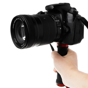 1/4'' Handle Grip Stabilizer Holder Stand Handheld Tripod For Camera Video LED