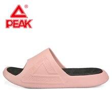 PEAK TAICHI Technology Slipper Women Non-slip Wear Beach & Outdoor Sandals Lightweight EVA Midsole Summer Slippers