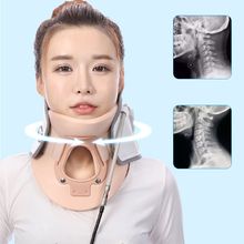Neck Traction Inflatable Massager Brace Pain Release Therapy Device Ease Care Cervical Vertebrae Air