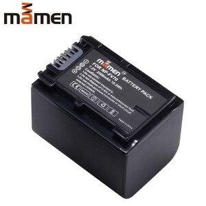 Mamen Rechargeable NP-FV70 NP FV70 NPFV70 Digital Battery Pack For Sony HDR-CX230 CX150E CX170 CX300 Z1 Camera Batteries