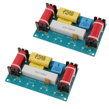 2 Sets Frequency Divider 3 Way Filters Bass Frequency Distributors For Car Home Speaker