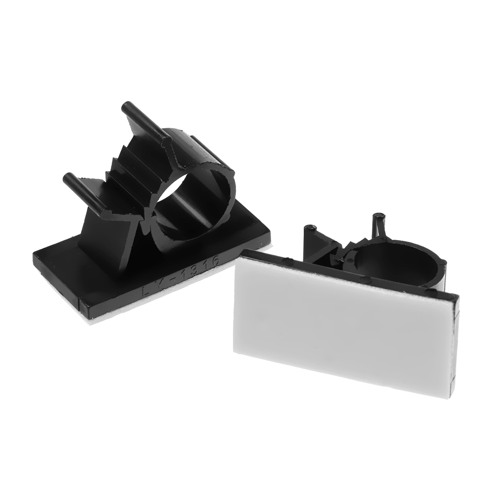 Cable Clips Self-Adhesive Desk Cord Management Organizer Wire Holder 5PCS