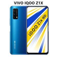 Original vivo iqoo z1x 5g telefone de jogos 6.57 polegada 48pm snapdragon 765 7nm artesanato 33w traço carga google play smartphone