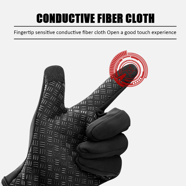 Riding windproof gloves thickening cycling gloves cycle motorcycle bicycle full finger men and women mountain for bike gloves