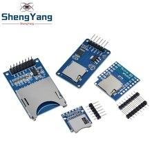 D1 karta Mini TF moduł Micro SD karta rozszerzenia pamięci Mini Micro karta SD TF moduł obudowy pamięci z pinami dla Arduino ARM AVR