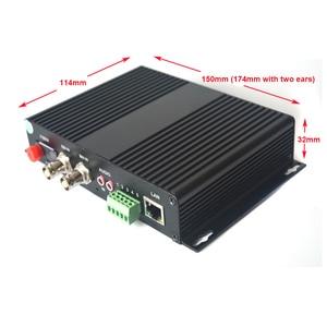 Image 4 - 2 kanal HD SDI Fiber Optik Medya Dönüştürücüler Video/Ses/RS485 Veri/10/100 Mbps Ethernet fiber Verici ve Alıcı