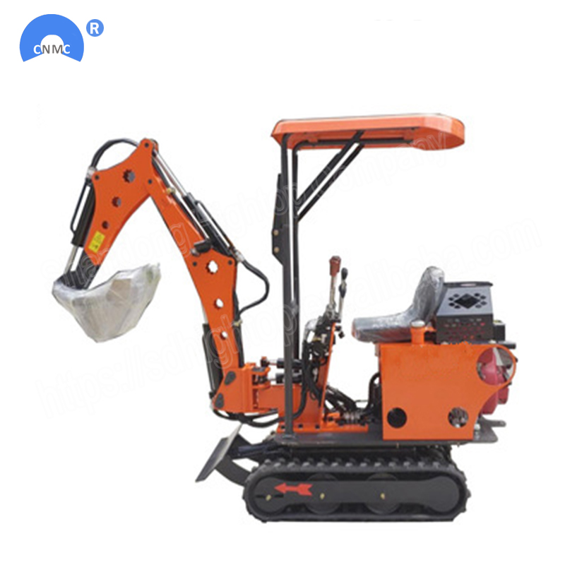 China Mini HT08 0.8 Ton Excavator 800kg Mini Digging Excavator