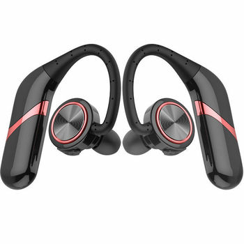 New TWS Wireless Headset Earbuds Bluetooth 5.0 Earhook Earphones Large Power Capacity for Sports Business Travel DOM668