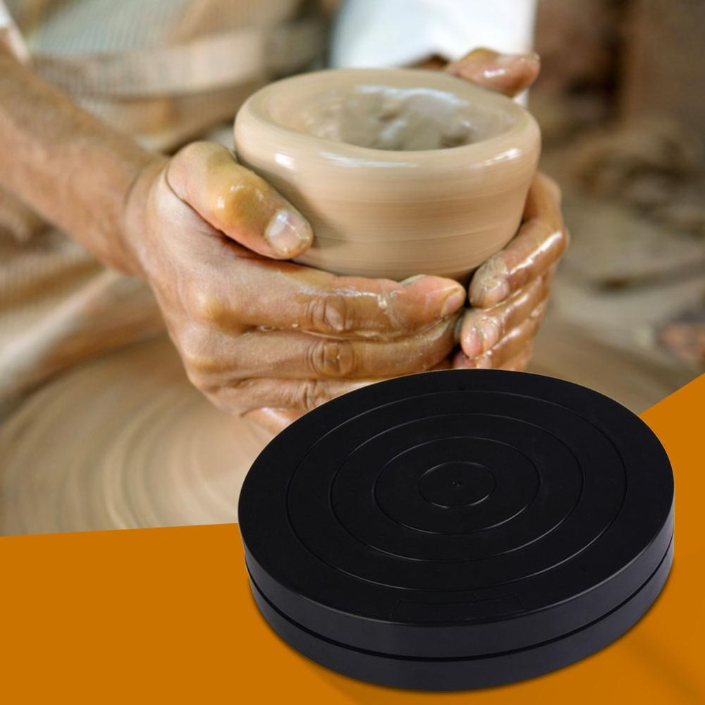 Plastic Turntable Pottery Clay Sculpture Tools 360 Flexible Rotation  Pottery Wheel Plateau Tournant