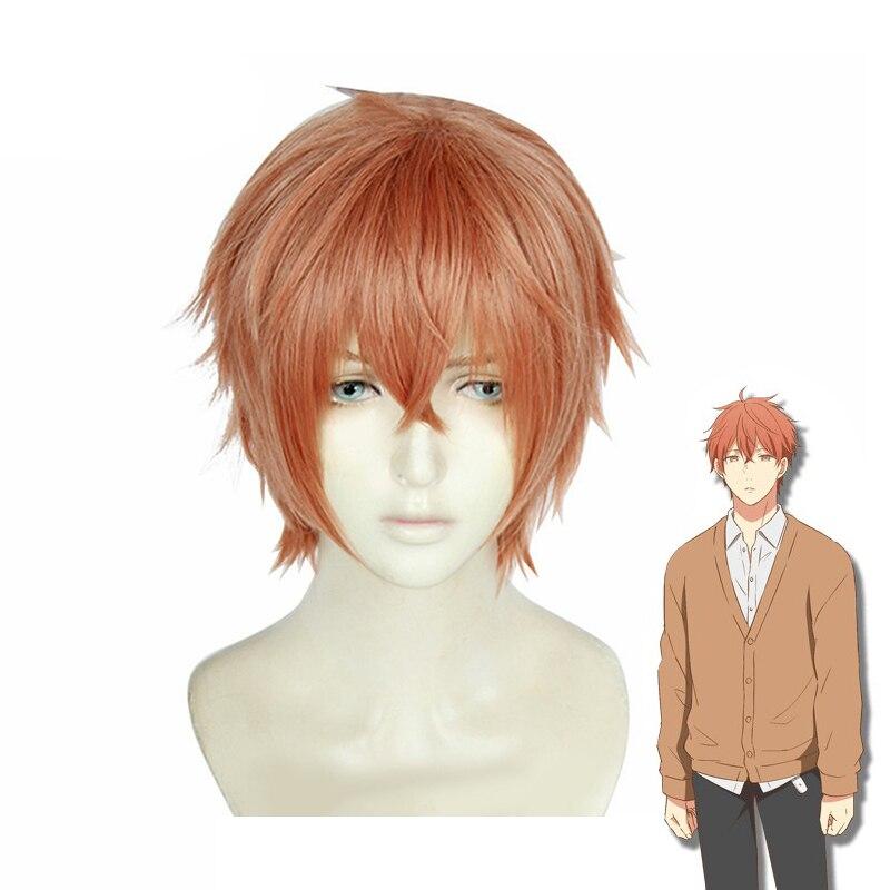 Короткий парик Sato Mafuyu из аниме, костюм для косплея, термостойкие синтетические волосы для мужчин и женщин, парики для вечеринок на Хэллоуин|Костюмы аниме|   | АлиЭкспресс