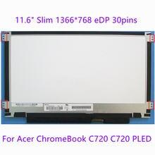 """116 """"тонкий ноутбук ЖК дисплей экран для acer chromebook"""
