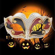 Half Face Halloween Night Party Carnival Masquerade Mask Gift for Kids Mysterious design Night Party Carnival Masquerade Mask анна никитская свитки норгстона путешествие за грань