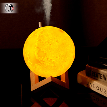 Air Humidifier 880ML 3D Moon Lamp light Diffuser Aroma Essential Oil USB Ultrasonic Humidificador Night Cool Mist Purifier decleor aroma night