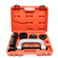 9pcs Ball Joint Auto Repair Remover Install Adapter Tool Set Service Kit For Universal Cross joint puller service Tool