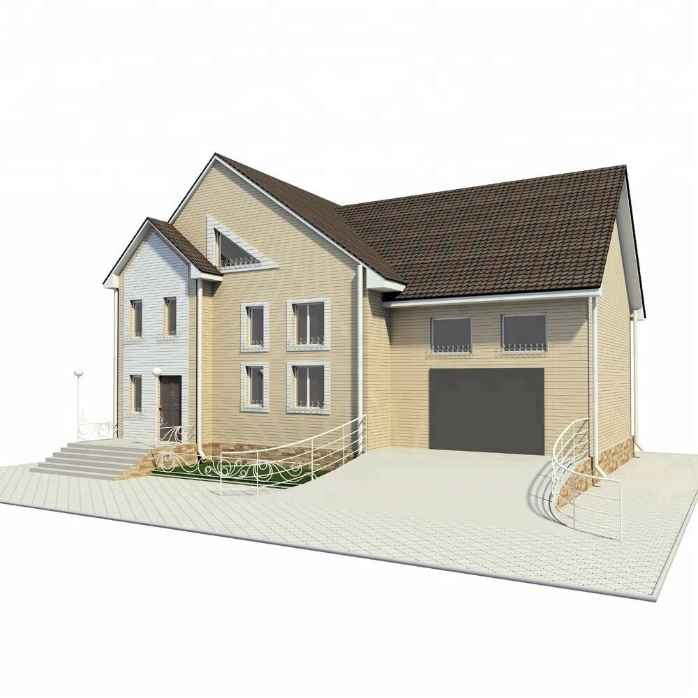 Foam Cement Prefab House Deluxe Modern
