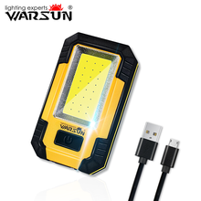 Warsun Y36 Waterproof 30w 1200 Lumen Mechanic Portable COB Rechargeable High Brightness Work Light with Power Bank