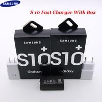 Samsung caricabatterie a ricarica rapida originale USB Wall EU US Adapter tipo C cavo dati per Galaxy S10 S9 S8 Plus S10e S11 nota 9 8 A50