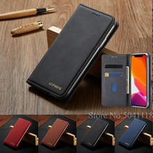 Luxury Leather Magnetic Flip Case for IPhone Xr X Xs 11 Pro Max Wallet Card Holder Book Cover for IPhone 8 7 6 6s Plus 5 5s Etui magnetic flip leather phone case for iphone xi 5 8 2019 xir xis max wallet card holder back cover for new iphone 2019 6 1 6 5