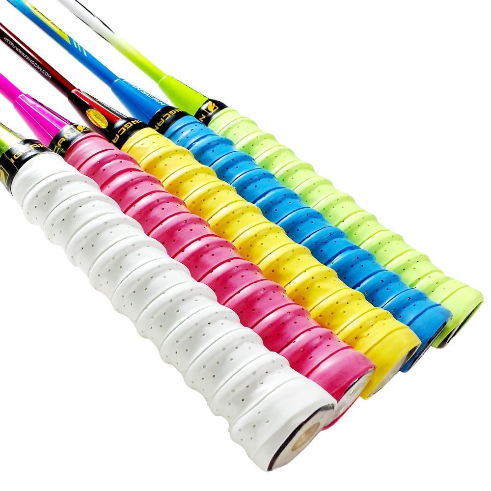 FANGCAN 3PCS Anti Slip Tennis Overgrip Badminton Squash Racket Grip Tape PU Over Grip For Padel Beach Tennis Racket Fishing Rod