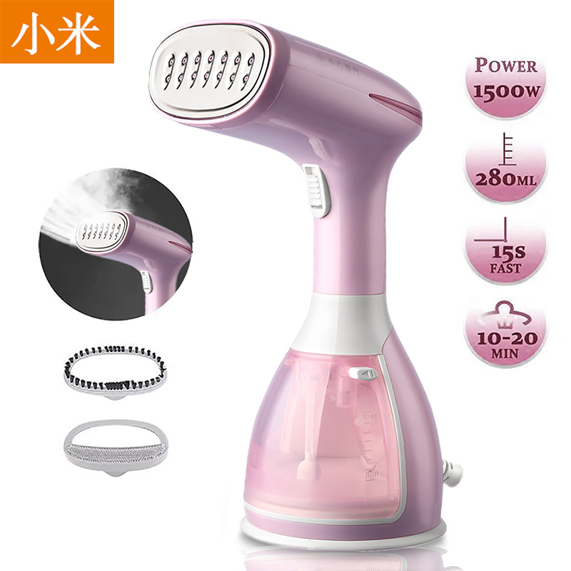 1500W 280ML Garment Steamer Household Appliances Vertical Steamer With Steam Iron Brushes Iron For Ironing Clothes For Ho