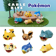 Cute Mini Cable Bite Animal Protector For IPhone Android Charger Toys Yellow Little Pet Shop Kids