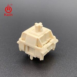 Image 4 - Kailh Cream Mechanical Keyboard Switch liner hangfeeling MX switch 5pin