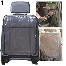 Car Seat Back Cover Dirt-proof Automatic Delicate Seat Back Protective Mat for Protection