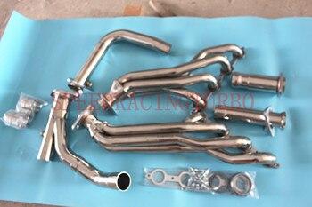 Выпускной коллектор для CHEVY/GMC GMT900 4,8/5,3/6,0 + Y-PIPE из нержавеющей стали длинная трубка из нержавеющей стали, одна пара середины X трубы