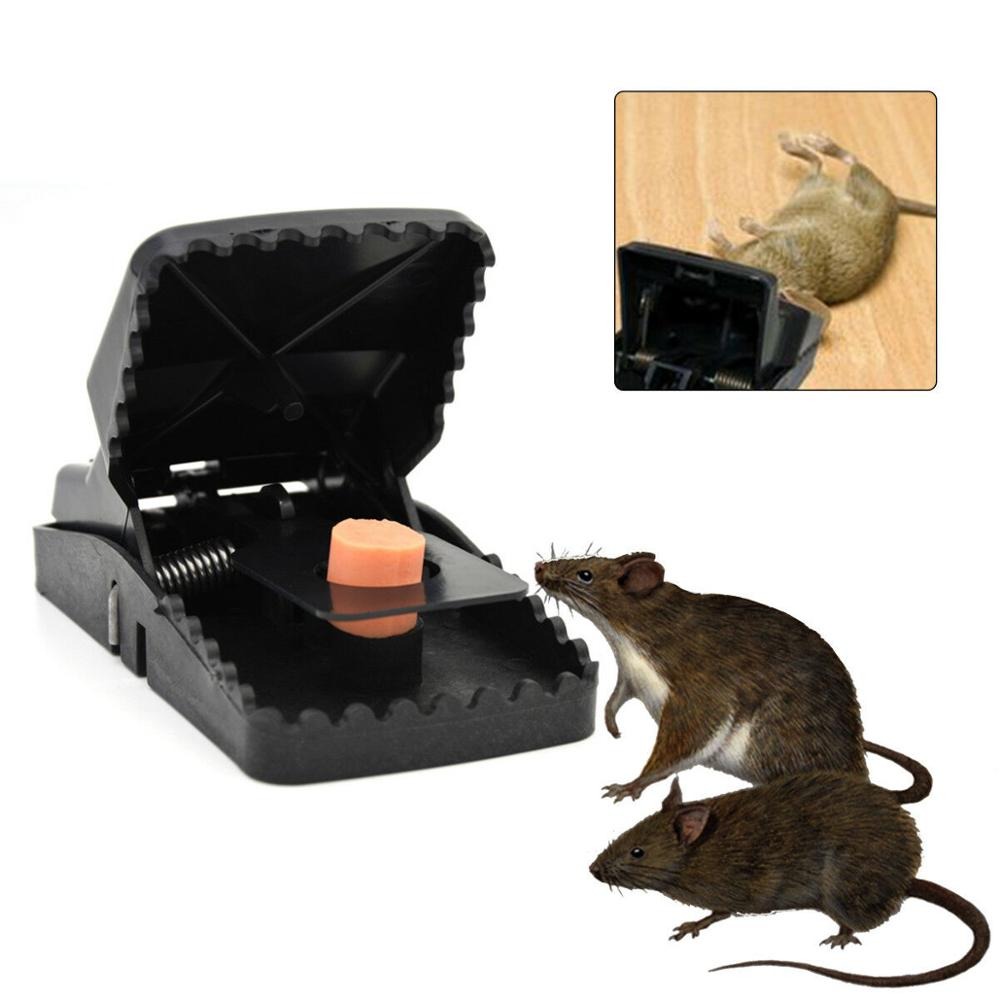 1/3/5Pcs Reusable Powerful Rodent Killer Mouse Trap Mole Repeller Mice Rat Trap Control Mousetrap Bait Pest Catching 2019 Hot