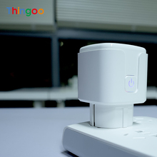 16A miernik zużycia energii licznik czasu inteligentne gniazdko ue Wifi Multi przejściówka Adapter bezprzewodowe zewnętrzne gniazdo sterujące dla aplikacji Smartlife