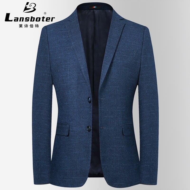 Lansboter 2019 Autumn & Winter New Style Korean-style Trend Men's Casual Small Suit Men Slim Fit Suit Coat