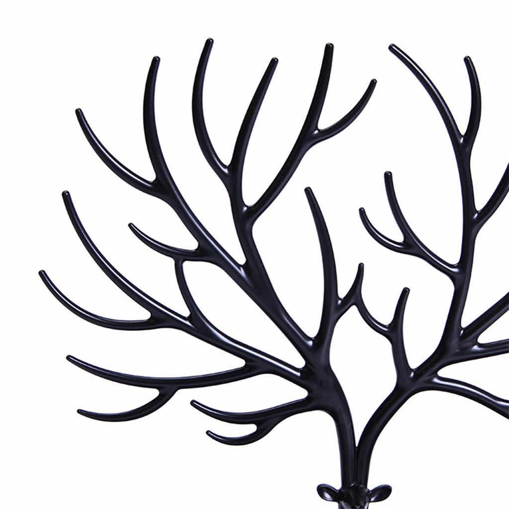 Jóias colar brincos anéis veados suporte de exibição organizador titular mostrar rack criativo presente árvore armazenamento jóias organizador