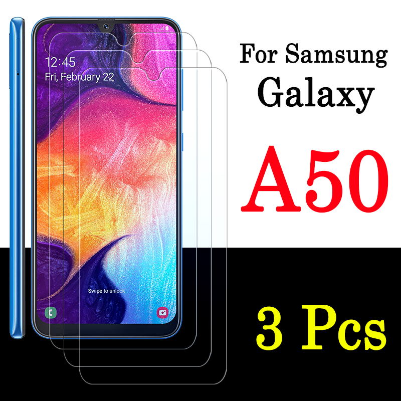 1-3pcs for <font><b>samsung</b></font> galaxy <font><b>a50</b></font> <font><b>glass</b></font> protective screen protector tempered glas sheet 50a armored samsun flim samsunga50 a 50 image