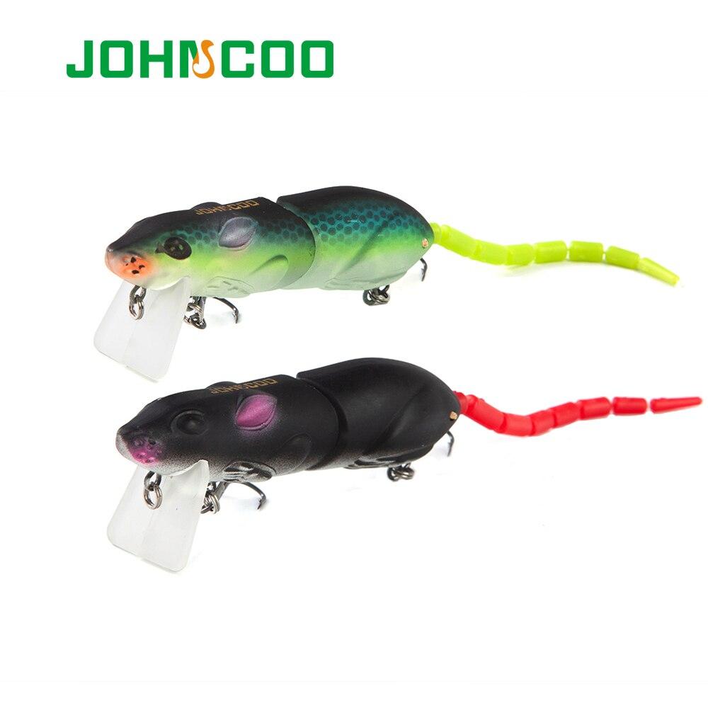 3d приманка мыши 2 сегментов искуственные рыболовные приманки