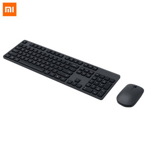 Image 2 - Xiaomi Wireless Keyboard & Mouse Set 2.4GHz Portable Multimedia Mi Mouse Keyboard Combo Notebook Laptop For Office Home